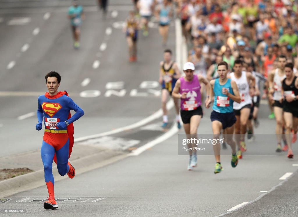 Thousands Of Runners Participate In 2018 City To Surf : News Photo