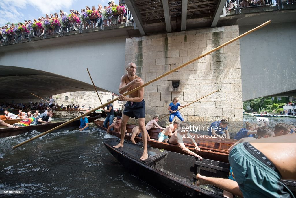 GERMANY-TRADITION-BOAT-RACE : News Photo