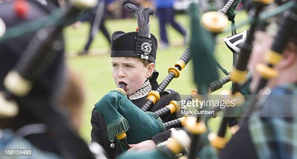Competitors Take Part In The Annual Braemar Highland Gathering