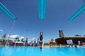 gold coast australia competitors warm up