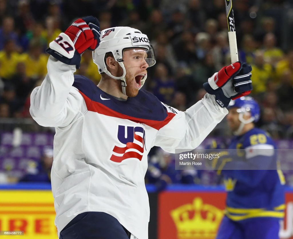USA v Sweden - 2017 IIHF Ice Hockey World Championship