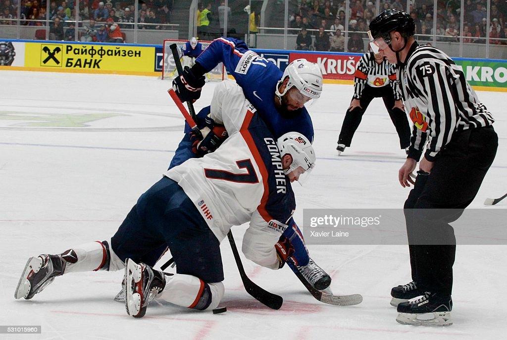 France v USA - 2016 IIHF World Championship Ice Hockey