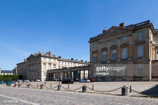 compiègne palace - gwengoat stock pictures, royalty-free photos & images