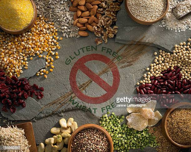 Compilation of gluten and wheat free ingredients