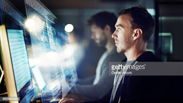 compiling a new source code - cloud computing stock photos and pictures