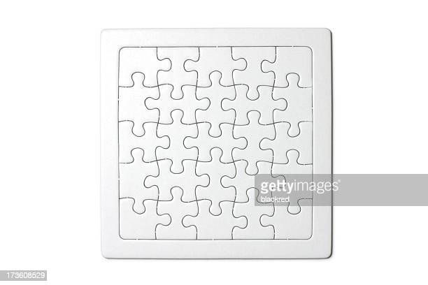 completato! - puzzle foto e immagini stock