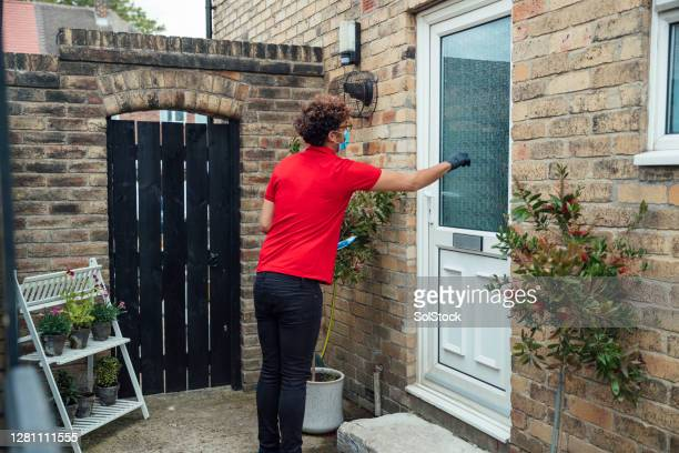 completing his delivery round - visit stock pictures, royalty-free photos & images
