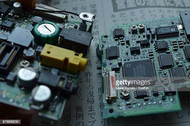 Complex Details Of Circuit Board