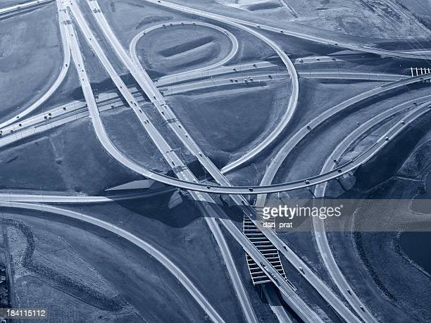 Complex Highway Interchange, getönt