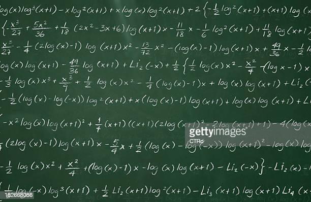 Complex Mathematik auf Tafel