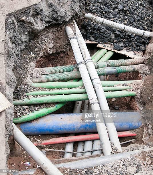 Complex Underground Pipes