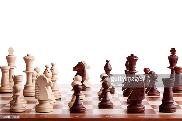 Complicated Chess Game