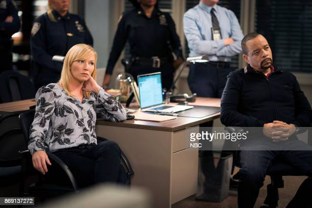 UNIT 'Complicated' Episode 1905 Pictured Kelli Giddish as Detective Amanda Rollins Ice T as Detective Odafin 'Fin' Tutuola