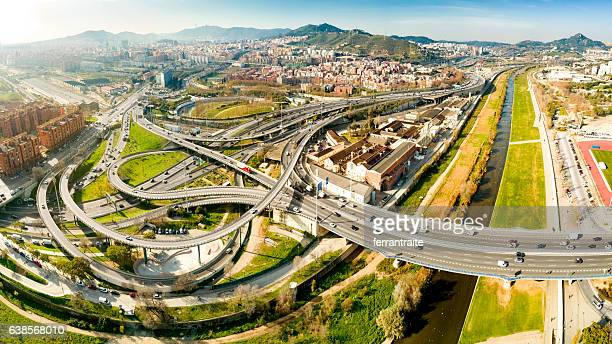 Complicated Interchange to Access Barcelona