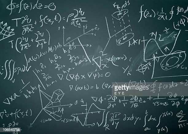Complicated mathematical formulas