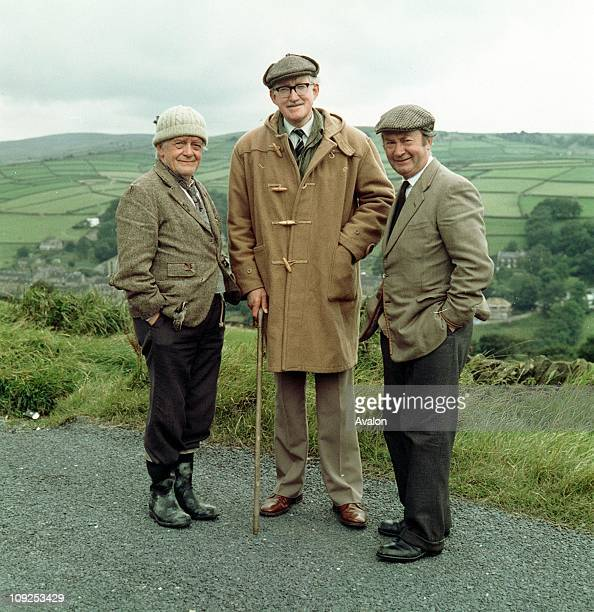 Compo BRIAN WILDE Foggy and PETER SALLIS Clegg Left To Right Stars of the BBC TV comedy series 'Last of the Summer Wine'