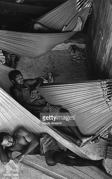 Component of the Landless workers movement on 17 April 1998 during an occupation of an unproductive Goias II ranch at transamazonica in Parauapebas...