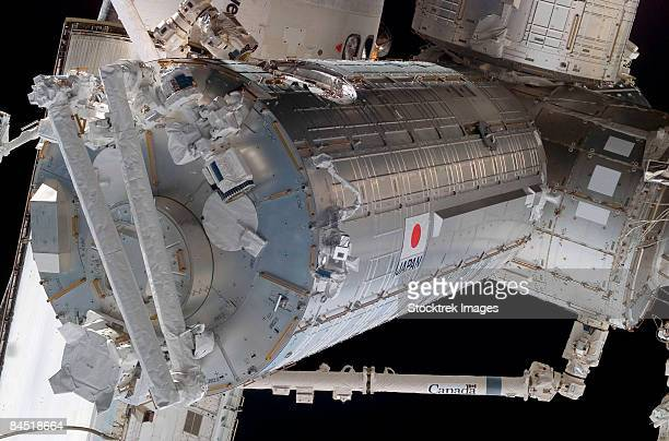 components of the international space station. - space mission stock pictures, royalty-free photos & images