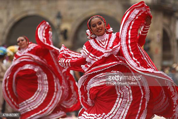 CONTENT] GUADALAJARA JALISCO MEXICO SEPTEMBER 01 Composed of 56 contingents including 26 mariachis in countries like Costa Rica Venezuela Peru...