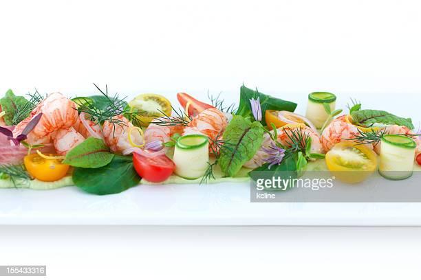 Composée de crevettes