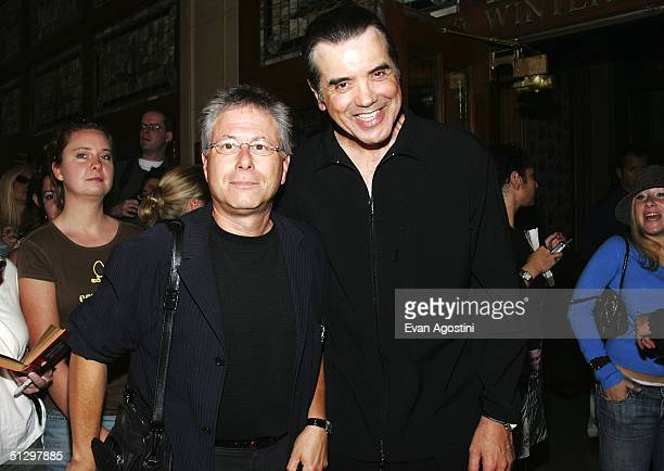 Composer Alan Menken and actor/director Chazz Palminteri attend a special screening of 'Noel' at the the Elgin Theatre during the 2004 Toronto...