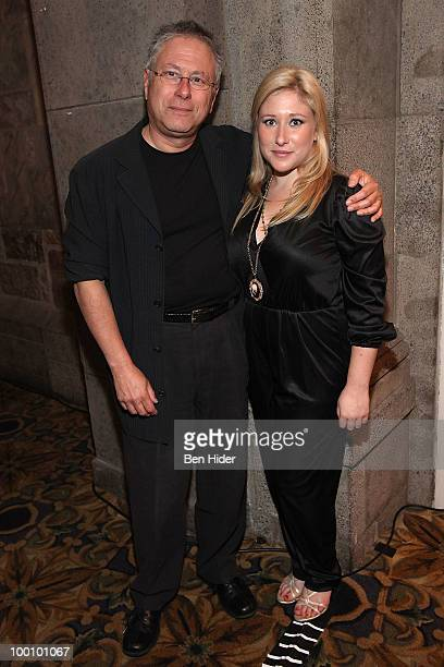 Composer Alan Menken and daughter Anna Rose attend the Green Chimneys Annual Spring Gala at Tappan Hill Mansion on May 20 2010 in Tarrytown New York
