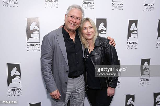 Composer Alan Menken and daughter Anna Rose Menken attend An Evening With Alan Menken at The GRAMMY Museum on June 1 2016 in Los Angeles California