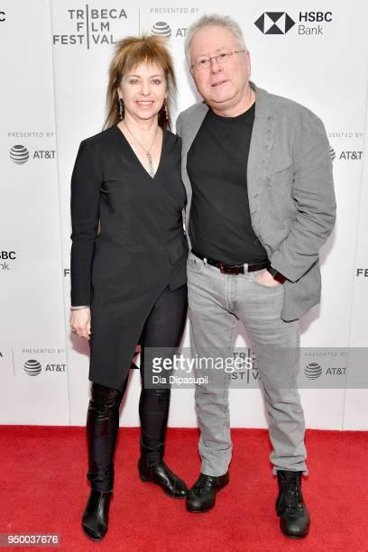 Composer Alan Menken and Janis Menken attend a screening of 'Howard' during the 2018 Tribeca Film Festival at Cinepolis Chelsea on April 22 2018 in...