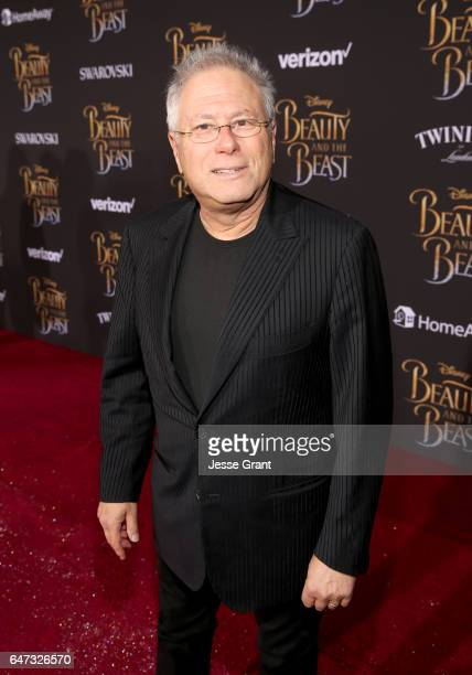 Composer Alan Menken arrives for the world premiere of Disney's liveaction 'Beauty and the Beast' at the El Capitan Theatre in Hollywood as the cast...