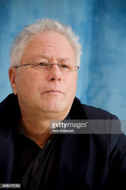 Composer Alan Menken at the Beauty and the Beast Press Conference at the Montage Hotel on March 5 2017 in Beverly Hills California