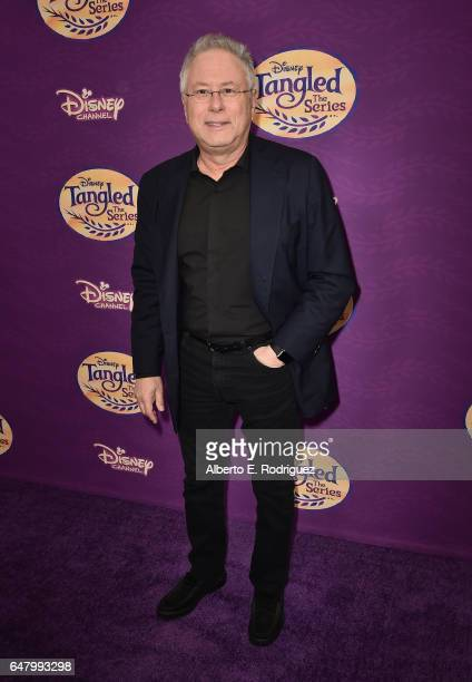 Composer Alan Menken attends a screening of Disney Channel's Tangled Before Ever After at The Paley Center for Media on March 4 2017 in Beverly Hills...