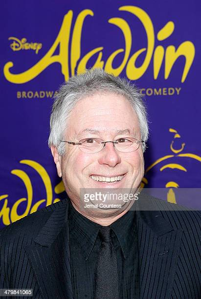 Composer Alan Menken attends the Aladdin On Broadway Opening Night at New Amsterdam Theatre on March 20 2014 in New York City