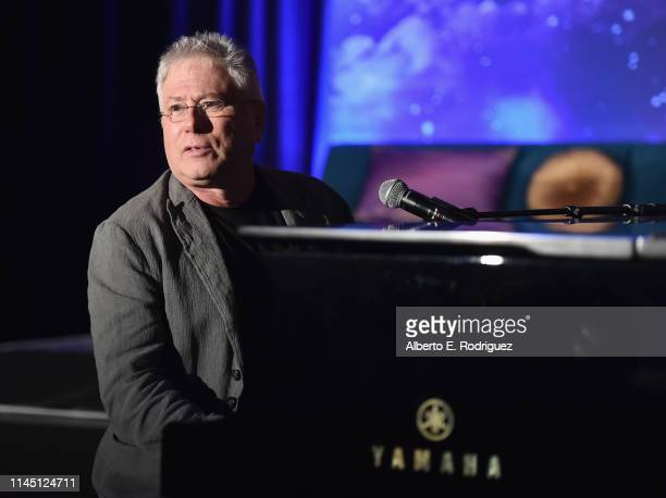 Composer Alan Menken participates in the US press conference for Aladdin in Los Angeles CA on May 19 2019