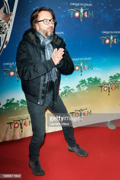 Composer Alex Jaffray attends 'Totem' show by Le Cirque Du Soleil at Parc de Bagatelle on October 30 2018 in Paris France