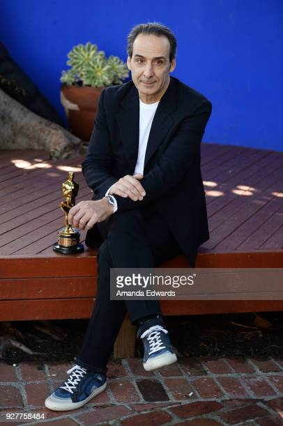 Composer Alexandre Desplat attends the 90th Academy Awards French Nominees Reception hosted by the Consul General of France at La Residence de France...