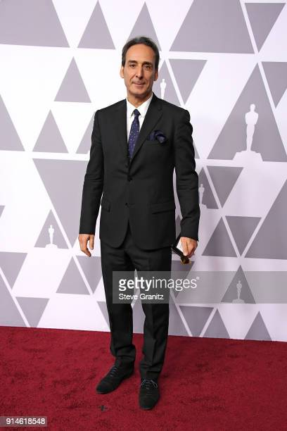 Composer Alexandre Desplat attends the 90th Annual Academy Awards Nominee Luncheon at The Beverly Hilton Hotel on February 5 2018 in Beverly Hills...