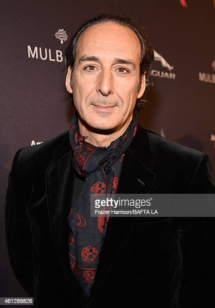 Composer Alexandre Desplat attends the BAFTA Los Angeles Tea Party at The Four Seasons Hotel Los Angeles At Beverly Hills on January 10, 2015 in...