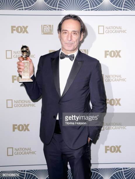 Composer Alexandre Desplat winner of Best Original Score for 'The Shape of Water' attends FOX FX and Hulu 2018 Golden Globe Awards After Party at The...