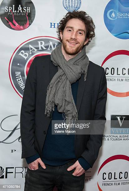 Composer Alexis Rault arrives at COLCOA French Film Festival Barnes After Party at Heritage Fine Wines on April 24 2015 in Beverly Hills California
