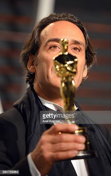 Composer and Best Original Score winner Alexandre Desplat attends the 2015 Vanity Fair Oscar Party hosted by Graydon Carter at the Wallis Annenberg...