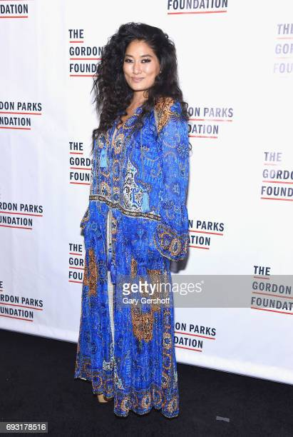 Composer and classical pianist Chloe Flower attends the 2017 Gordon Parks Foundation Awards gala at Cipriani 42nd Street on June 6 2017 in New York...