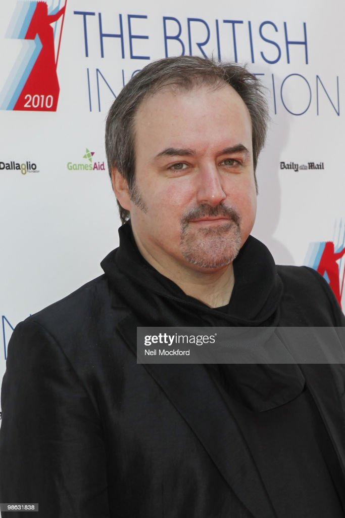 Composer and Conductor, David Arnold arrives for The British Inspiration Awards on April 23, 2010 in London, England.