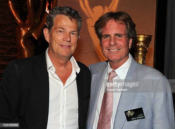 Composer and Emmy Nominee David Foster with president of Society of Composers and Lyricists Dan Foliart attends the SCL ATAS BMI ASCAP SESAC's...