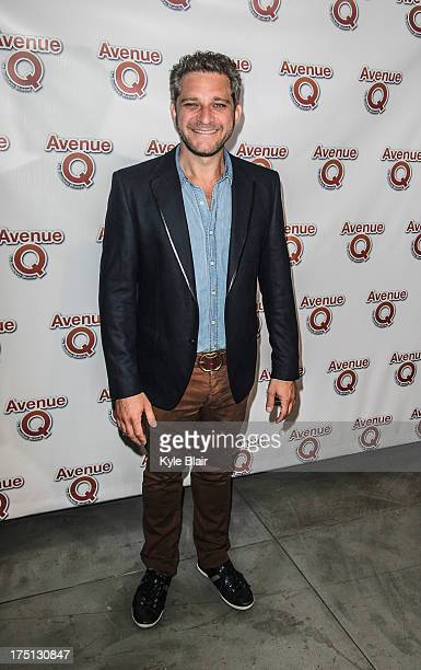 Composer and lyricist Jeff Marx attends the Avenue Q 10th year anniversary performance at New World Stages on July 31 2013 in New York City