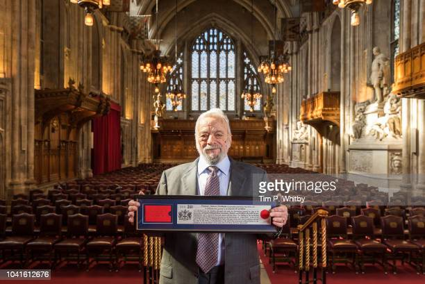 Composer and lyricist Stephen Sondheim receives the Freedom of the City of London by the City of London Corporation in recognition of his outstanding...