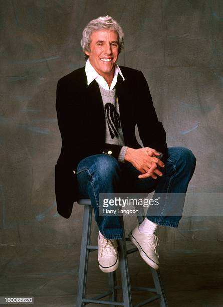 Composer and producer Burt Bacharach poses for a portrait in 1987 in Los Angeles California