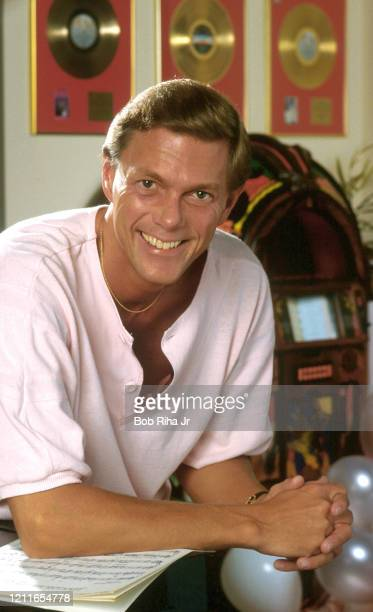 Composer and singer Richard Carpenter at his home September 4 1987 in Downey California