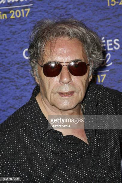 Composer and Singer Yves Simon attends Diabolo Menthe Retrospective at Cinema Le Publicis during the 6th ChampsElysees Film Festival on June 20 2017...