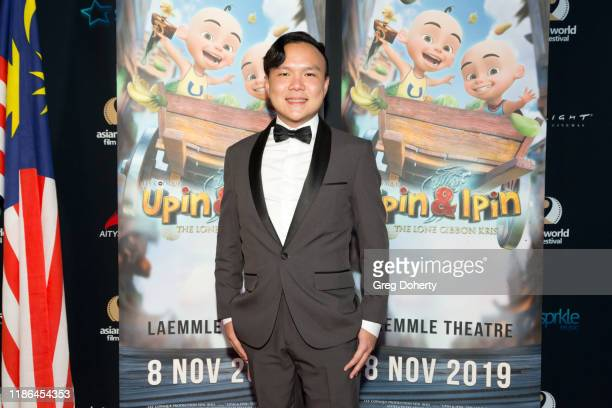"""Composer Andrew Bong attends """"Upin Ipin"""" the First Malaysian Animated Film Submitted to Oscars Screens at the Asian World Film Festival on November..."""