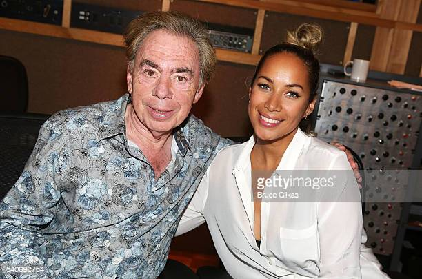 Composer Andrew Lloyd Webber and Leona Lewis record the hit song Memory from Cats which Lewis will be making her Broadway debut as Grizabella in the...
